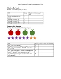 On-the-spot Math Assessment for T.S. Gold Objectives