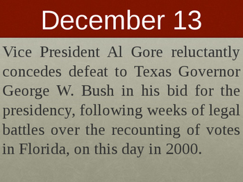 On this day in history- December addition