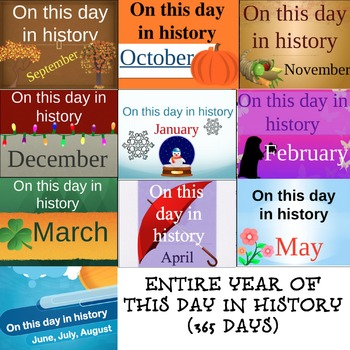 On this day in history FULL YEAR!