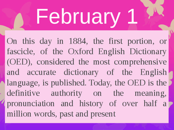 On this day in history- February addition