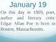 On this day in history- January addition