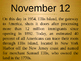 On this day in history- November addition