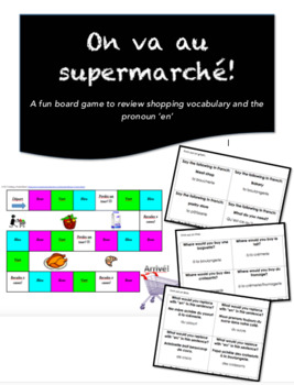 On va au supermarché! | Board Game
