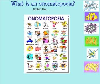 Onamatopoeia Day 2