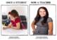 Once A Student Now A Teacher Inspire their Dream