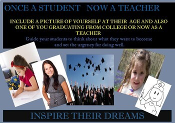 Once A Student Now A Teacher Inspire their Dream