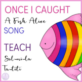 Once I Caught A Fish Alive - Ta & Titi, Sol Mi La