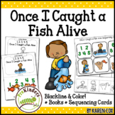 Once I Caught a Fish Rhyme: Books & Sequencing Cards