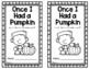 Once I Had a Pumpkin Song