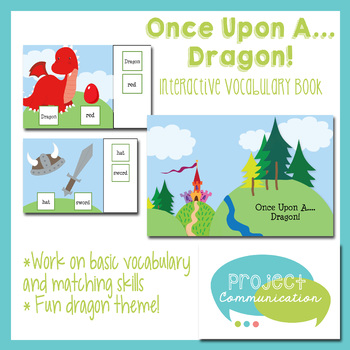 Once Upon A ... Dragon! Interactive Vocabulary Book