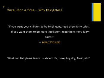 Once Upon A Time- Fairytale Unit