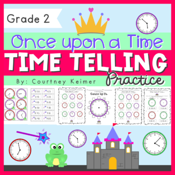 Once Upon A Time... Telling Time to Nearest 5 Minute Using AM & PM
