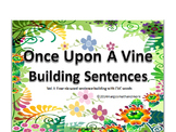 Once Upon A Vine Sentence Builder Vol. I Short Vowels