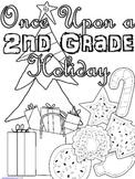 Once Upon a 2nd Grade Holiday - Christmas Workbook