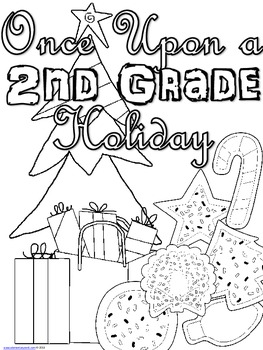 Once Upon a 2nd Grade Holiday - Christmas Workbook