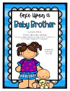 Once Upon a Baby Brother Story Pack