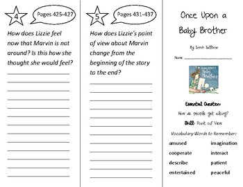 Once Upon a Baby Brother Trifold - Wonders 2nd Grade Unit 5 Week 2