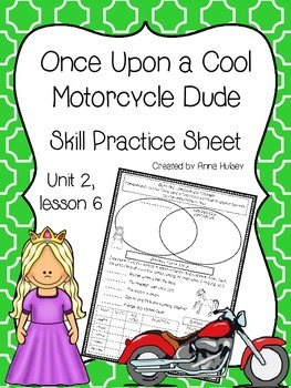Once Upon a Cool Motorcycle Dude (Skill Practice Sheet)