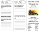 Once Upon a Cool Motorcycle Dude Trifold - Journeys 4th Grade Unit 2 Week 1