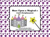 Once Upon a Magical e: silent e game