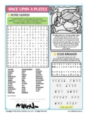 Once Upon a Puzzle Activity Sheet, CHRISTMAS NATIVITY (LETTER-SIZE, USA English)