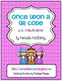 Once Upon a QR Code {technology integrated math center}