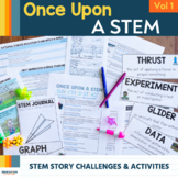 Once Upon a Stem Volume 1: Low / No Prep STEM Challenges