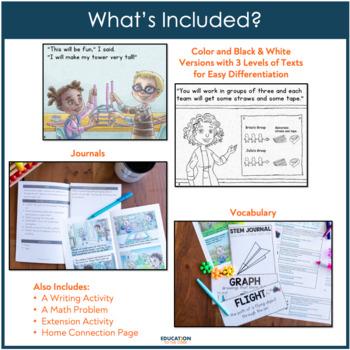 Once Upon a Stem Volume 1: Low / No Prep STEM Challenges