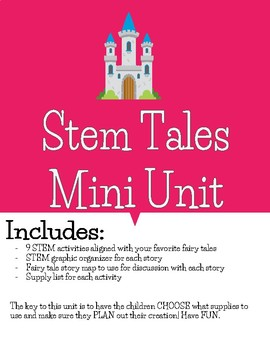 Once Upon a Time: A STEM  Mini Unit