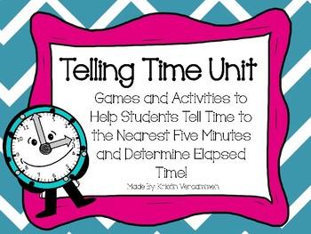 Telling Time Unit
