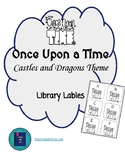 Once Upon a Time Castles and Dragons Decor Library Book Bi