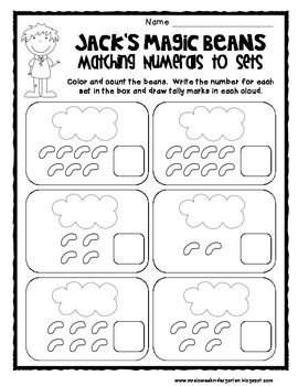 Once Upon a Time Math and Literacy Centers {A Fairy Tale Unit for Kindergarten}