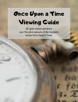 Once Upon a Time (Pilot): Viewing Guide