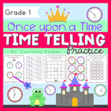 Once Upon a Time... Telling Time Activities to the Hour & Half Hour