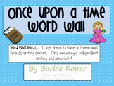 Once Upon a Time Word Wall