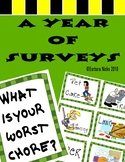 Once a Week Graphing (A Year of Surveys and Math Questions to Ask)