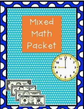 Mixed Math Packet