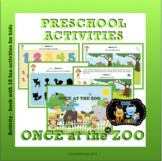 Once at the ZOO - English Version - quiet book