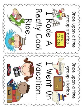 Once upon a time group stories for kindergarten