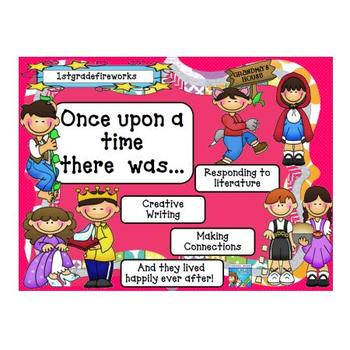 Once upon a time.....fairy tales reading & writing
