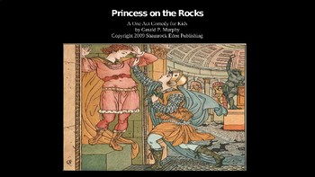 One Act Play PowerPoint for Kids - Princess on the Rocks