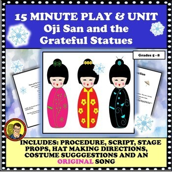CHILDREN'S ONE ACT PLAY with Music--Ojisan and the Grateful Statues