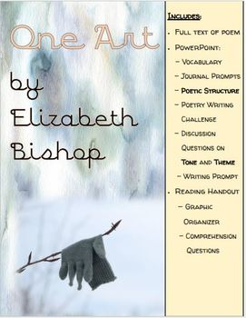 One Art by Elizabeth Bishop