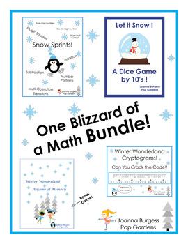 One Blizzard of a Math Bundle!