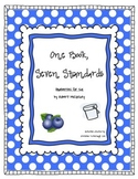 One Book, Seven Standards ~ Blueberries for Sal