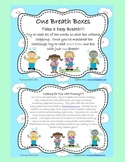 One Breath Box- Fluency and Decoding for Level 2 Trick Words