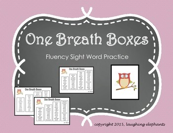 One Breath Boxes Gr. 1 & 2 Owls