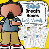 One Breath Boxes - Long Vowels