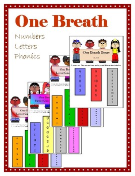 One Breath - Numbers, Letters, Phonics!