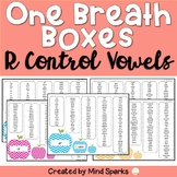 One Breath Boxes (R Controlled Vowels/Bossy R)